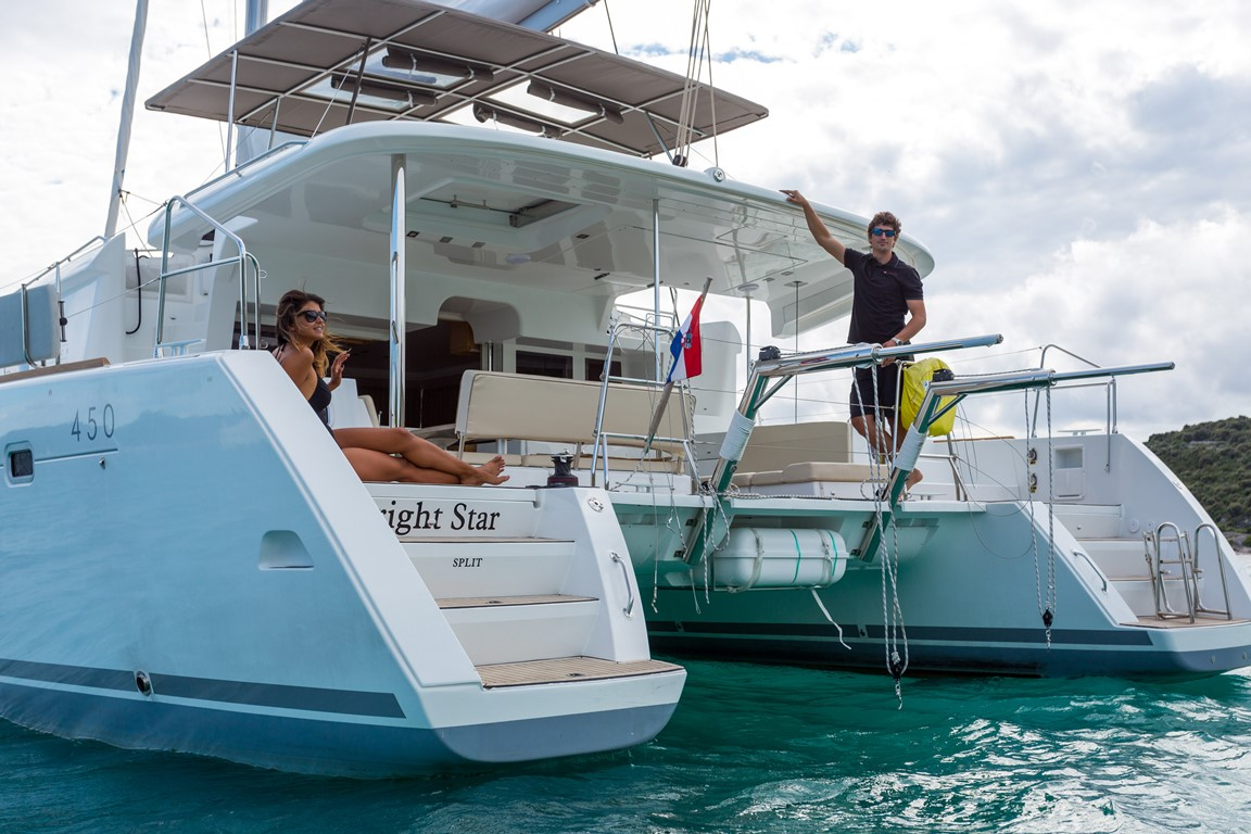 Lagoon 450 Luxury Bright Star Offered By Cata Sailing