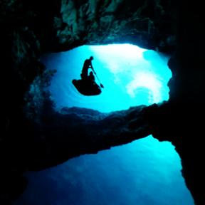 Blue cave Biševo