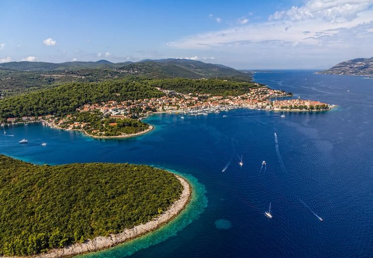 Elaphiti islands near Dubrovnik